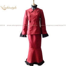 Kisstyle Fashion Hetalia: Axis Powers Spain Antonio Isabella Reversion Female Body Clothing Cosplay Costume,Customized Accepted