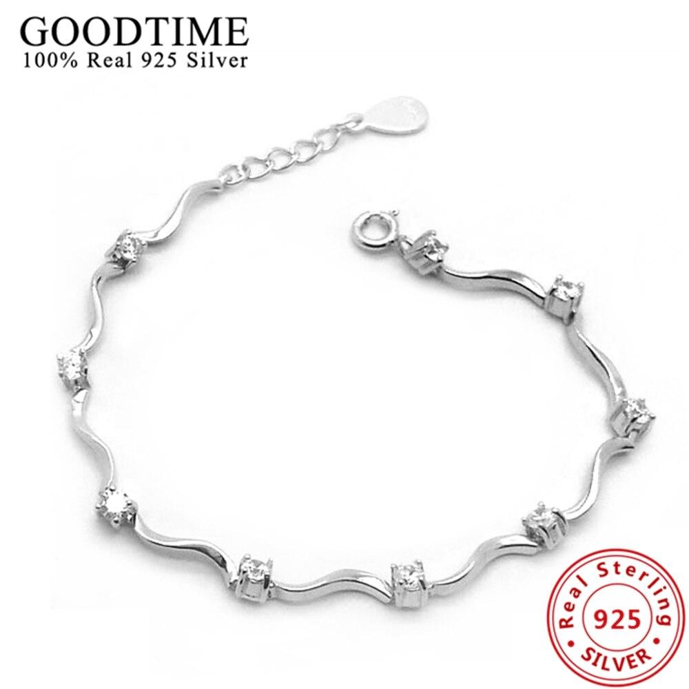925 Sterling Silver Bracele Pure