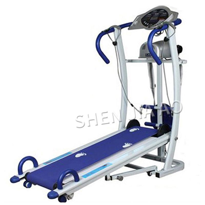 Professionnel pas de tapis roulant mécanique électrique fitness mini machine silencieuse pour la maison multi-fonction tapis roulant pliable nouveau