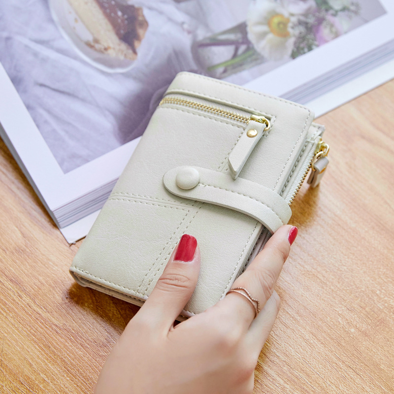 Fashion Bags For Women 2019 Small Wallets Fashion Lady Long Solid Purse Clutch Bag Fashion Women Wallet