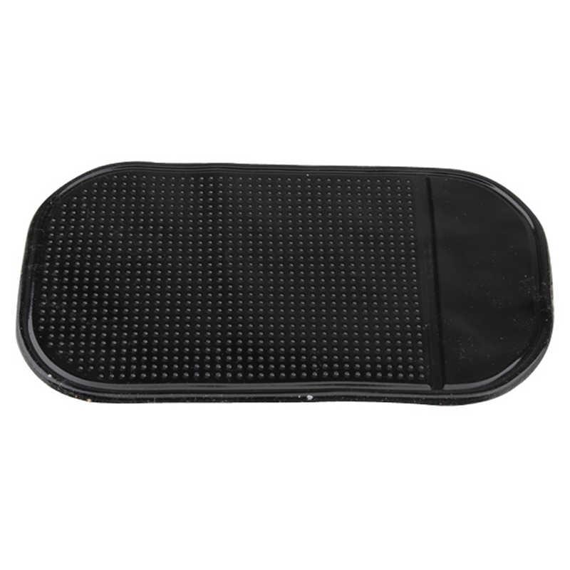 รถ Anti-SLIP ผู้ถือโทรศัพท์ GPS เหรียญปากการีโมทคอนโทรลเสื่อแว่นตากันแดดคีย์ Sticky Pad Dashboard Place