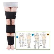 O forma X formája Legs Correction Belt Bowleg Correct Band testtartás Charming Long Leg öv Ingyenes méret a felnőtt gyerekeknek