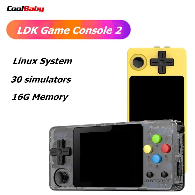 LDK video game console CoolBaby OPEN SOURCE Mini Retro Handheld Game players portable Console HD Retro Mini consola boy tetris