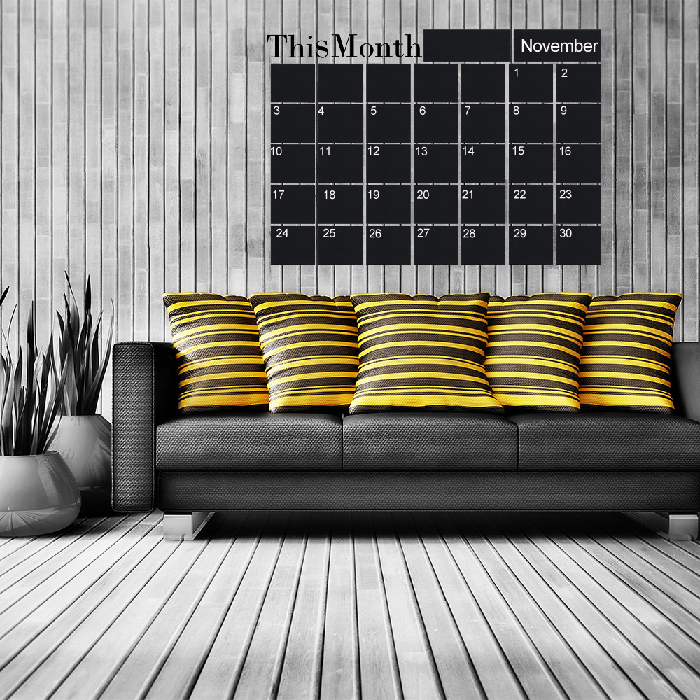 Wall Mounting Month Planner 4