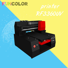 33*60cm Automatic Printer UV Machine 3D 6-Colors with Epson Head for Emboss Cylinder/Flatbed Objects