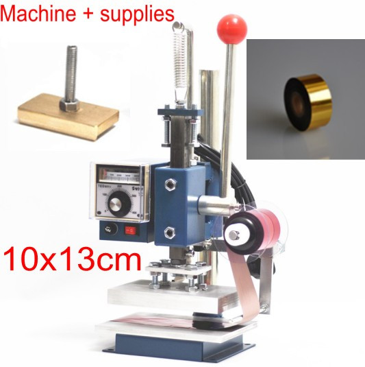 hot foil stamping machine with foil holder1_conew2