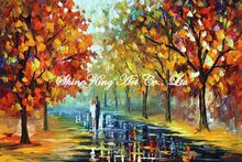 palette knife oil painting  modern oil painting canvas oil painting K228