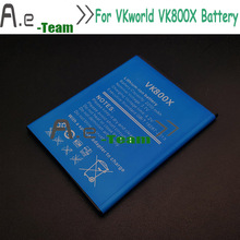 VKworld VK800X Battery 100 NEW High Quality Back up 2200mAh Battery for VKworld VK800X Smartphone in