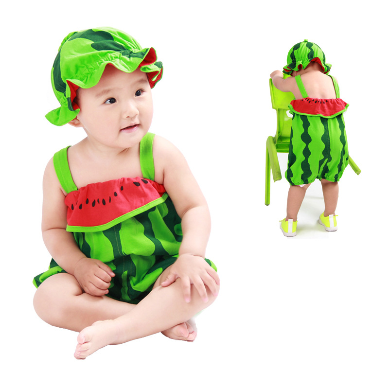 SEXEMARA Baby Newborn Rompers Boy Clothes Summer Baby Girl Jumpsuit Costumes Infant Watermelon Modelling Clothing newborn baby rompers baby clothing 100% cotton infant jumpsuit ropa bebe long sleeve girl boys rompers costumes baby romper