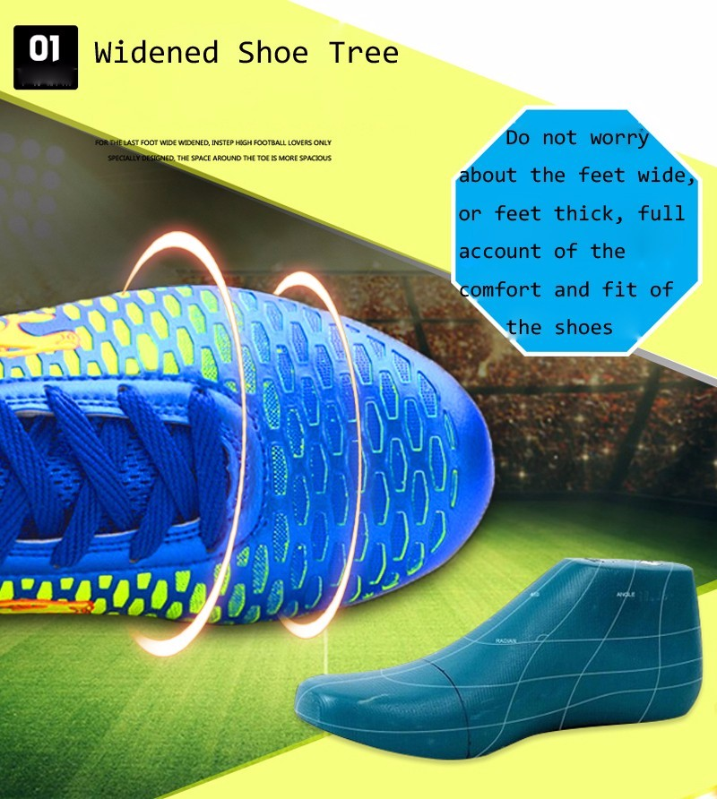 2017 High Ankle Superfly Boys Kids Football Boots Cheap Indoor Soccer Shoes Cleats Girls Sneakers High Quality voetbalschoenen1