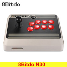Original 8Bitdo N30 Wireless Bluetooth Gamepad Arcade Game Stick Joystic for Android Switch Mac OS Windows