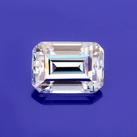 Moissanites Diamond EF color clear white 5*7mm Emerald cut moissanites loose gem stones