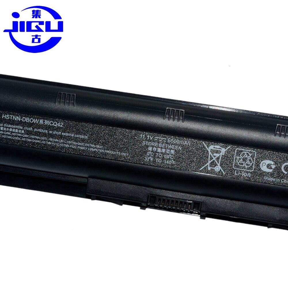 JIGU 9 ячеек Тетрадь Батарея для PAVILION DM4 DV3 DV5 DV6-4000 DV7-1200 DV8 G4 G6 G7 CQ32 CQ42 CQ43 CQ56 CQ62 P/N 593554-001 аккумулятор большой емкости