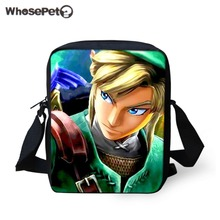 6ae9961ab39 WHOSEPET Anime The Legend Of Zelda Kinderen Zakken Jongens Schooltassen  Kinderen Tassen voor Student Cartoon Mini Schoudertassen.