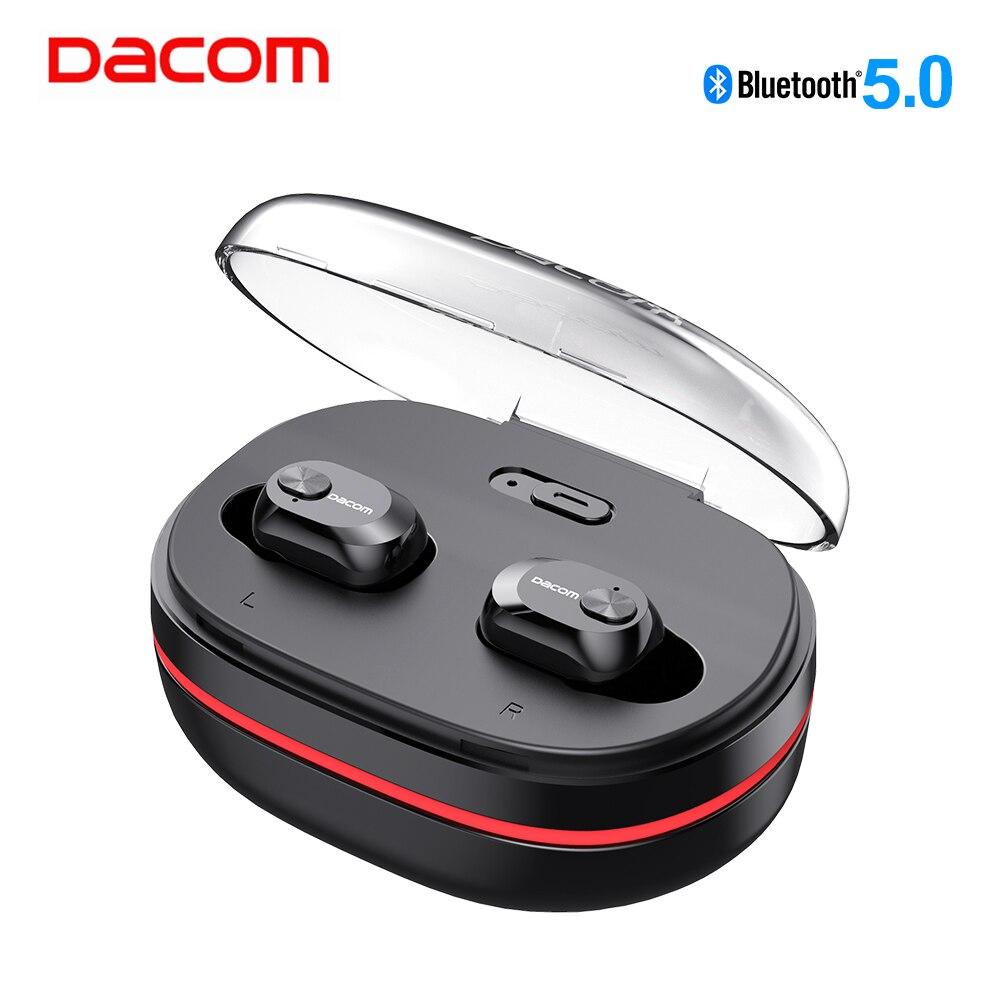 DACOM K6H Pro TWS Freisprecheinrichtung Air Hörer Mini Headset Stereo Bluetooth 5,0 Ohrhörer Knospen Drahtlose Kopfhörer Kopfhörer PK i12 tws