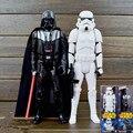 30 CM Brinquedo de Star Wars Darth Vader Stormtrooper PVC Figuras Revoltech Toy Collectible Modelo Figura de Ação Brinquedos Robô com varejo caixa