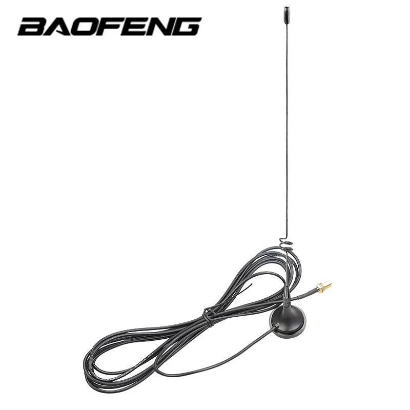 Baofeng Antenne pour Portable Radio Voiture VHF Antenne pour Quansheng Baofeng 888 S UV5R Talkie Walkie UHF Antenne