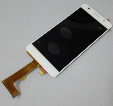 For huawei p7 p7 L10 L09 lcd display touch glass digitizer assembly replacement screen white Pink