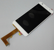 Für huawei p7 p7-l10 l09 lcd display + touch glas digitizer assembly ersatz bildschirm weiß/rosa freies verschiffen