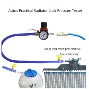 Image 1 - 水タンクリーク検出器車冷却ラジエーター圧力テスター水タンク検出器チェッカーのための適切なユニバーサル車