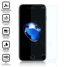10 шт. 0.2 мм HD 9 H закаленное Стекло Плёнка для iPhone 5 5S 5C 6 6 S 7 8 x плюс царапинам Защитная Очки Защитные плёнки и чехлы