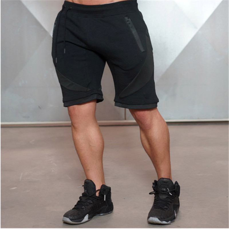 2019 New Brand Fashion Men's Casual Shorts Soft Simple Pants Cotton Gym Fitness Jogging Running Shorts