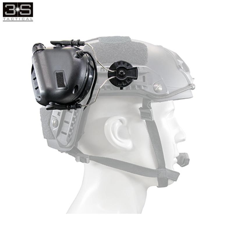 Opsman earmor m11 para arco ferroviário capacete