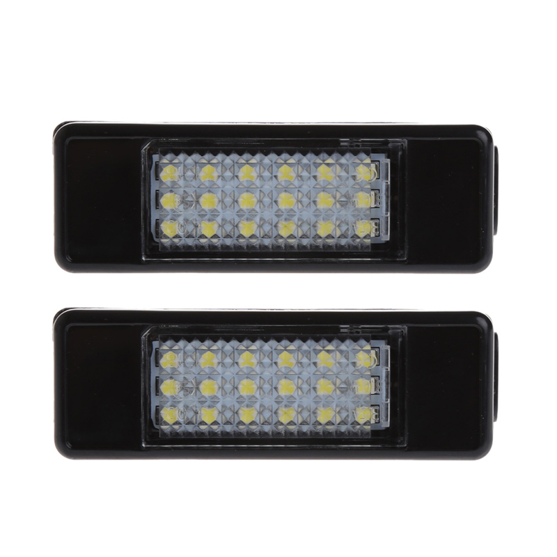 18 LED Number License plate light for Peugeot 207 308 Citroen Berlingo C2 C3 Pluriel Baujahr 2004 - 2009 C4 C5 Limousine C6 DS3 купить