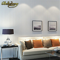 Wallpaper Modern Minimalist Style Wall Paper Striped Solid Color Non Woven Wallpaper Living Room Tv Sofa