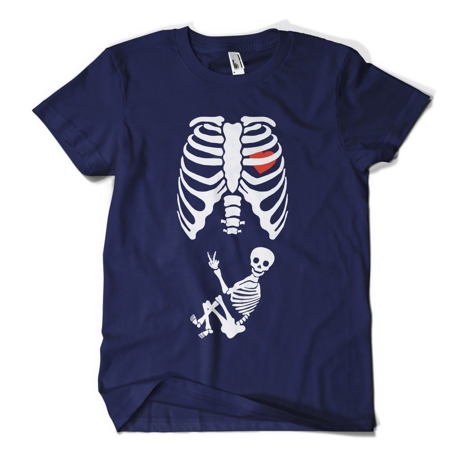5e525f07acd43 Baby Skeleton T Shirt Maternity Pregnant Halloween Funny Joke Mens Girls  Tee Top New T Shirts Funny Tops Tee free shipping
