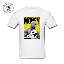 2017 Funny Graphic Funny Money Team FLOYD MAYWEATHER Funny Cotton T Shirt for men