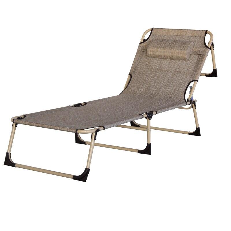 beautiful simple moderne de mode loisirs respirant lit pliant lit simple balcon plage transat midi pause fauteuil inclinable dans chaises longues de meubles - Transat Balcon