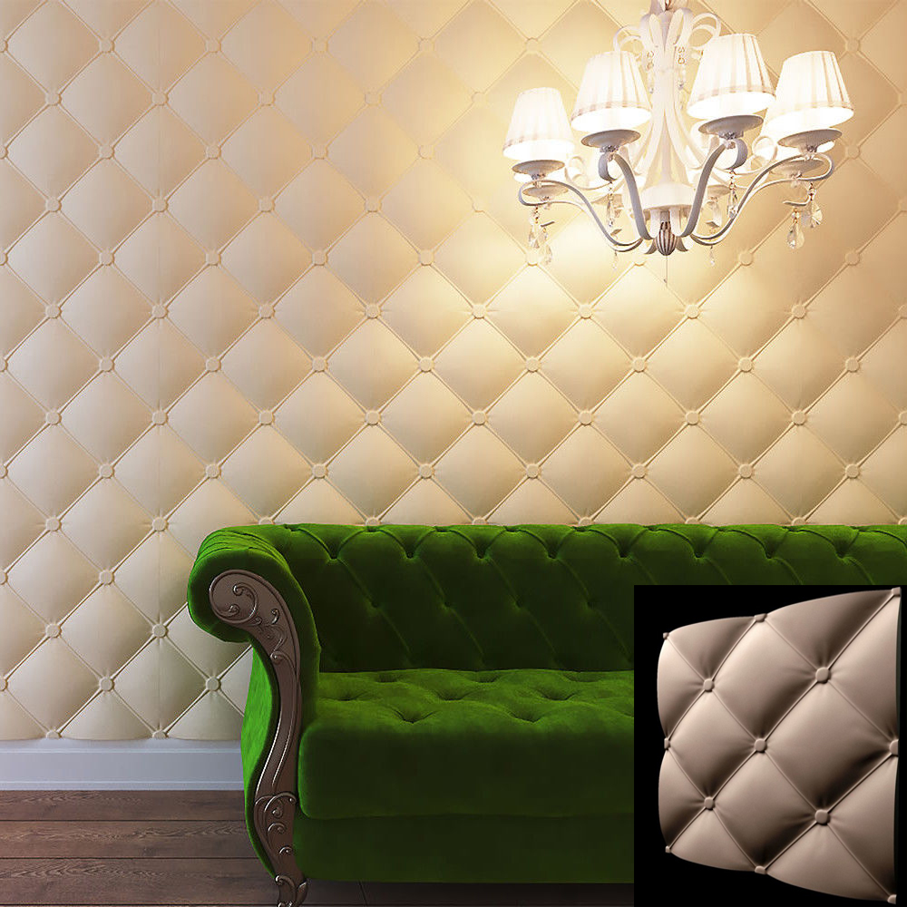 3D Plastic molds for gypsum and concrete decorative wall panels NEW ...
