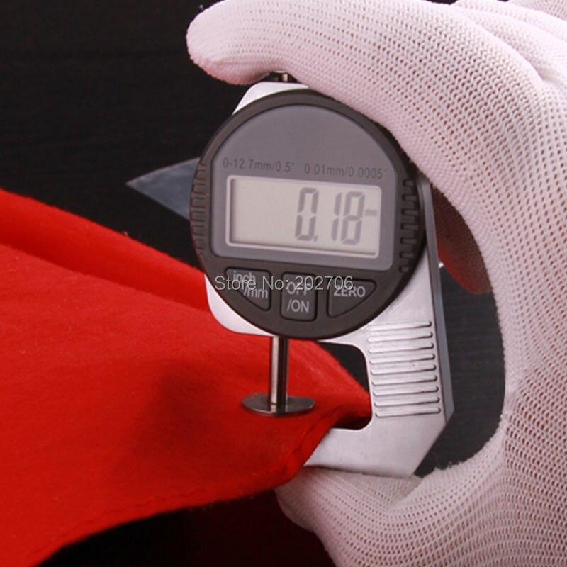 Прямая! Простота в эксплуатации 0-12,7 мм Мини цифровой Толщина датчик измерительный прибор тестер микрометрический измеритель с большим измеряя уход за кожей лица
