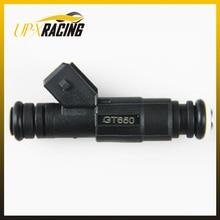 high performance parts GT650 high flow 650cc 65lb EV6 injection turbo fuel injectors black nozzle injector