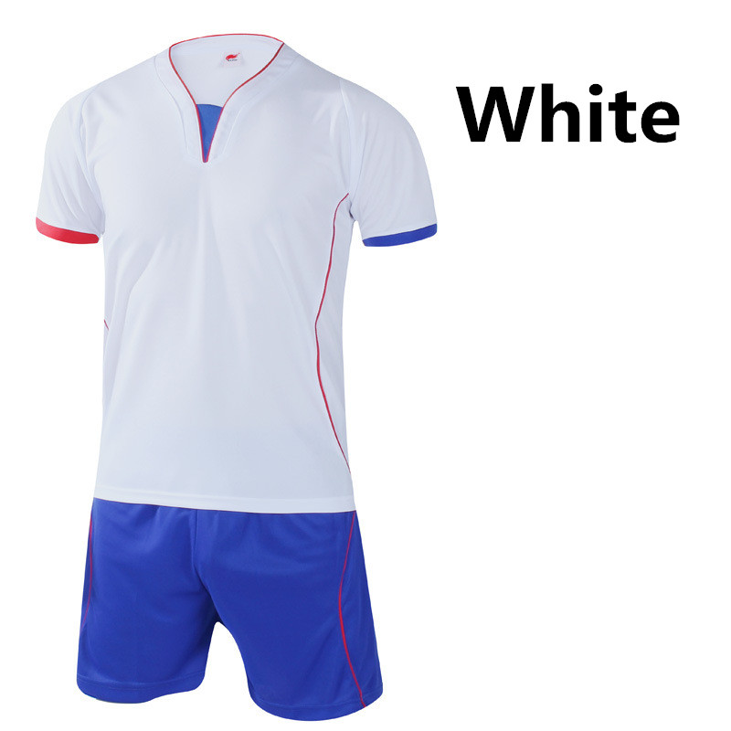 dfb209b0a 2016 Football Jersey and shorts Training Suit Clothes Set Football T shirts  Sportswear for Men Women Soccer Sports Clothing L400-in Soccer Sets from  Sports ...