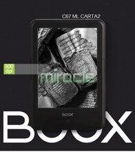 3000 mAH NUEVO ONYX BOOX C67ML Carta2 Ebook Ereader eink Táctil Lector de Libros electrónicos de pantalla 8G 300 DPI WIFI Frontal Glowlight Android4.22