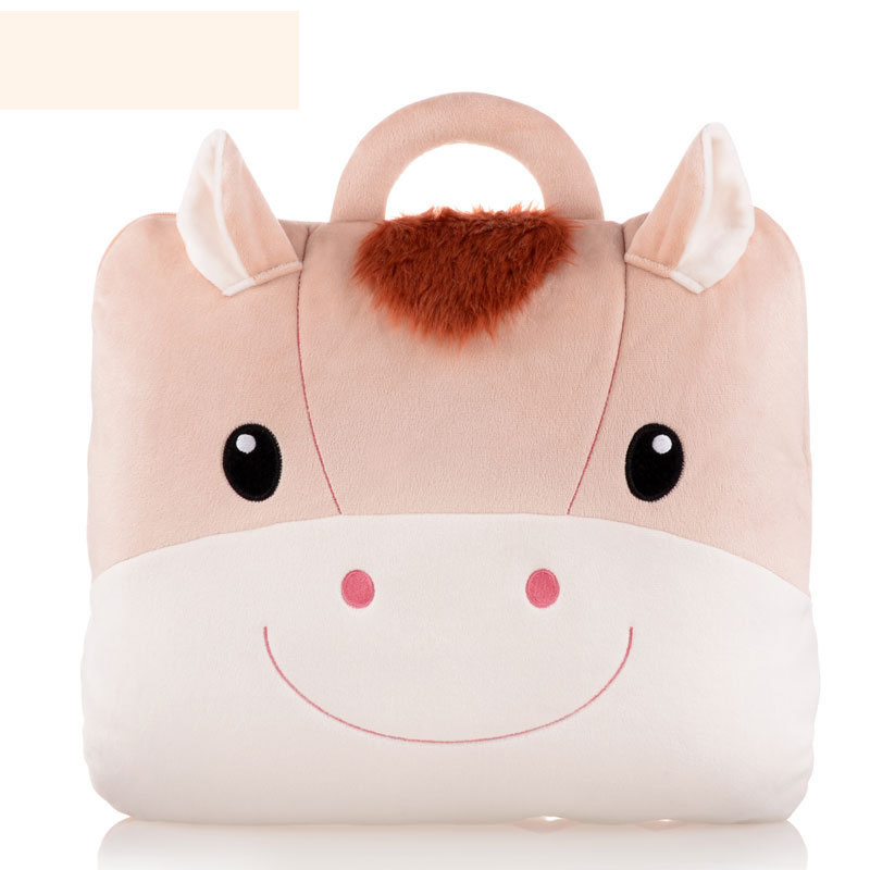 New Arrival Storage Bags Metoo kiss baby pillow office air conditioning is a rabbit with siesta pillow Warm For Winter Summer