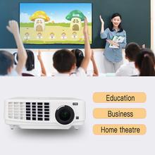 3led 3lcd коротковолновой яркий проектор дневного света для бизнес-использования для 1024*768(XGA) 3800 люмен, обучающий проектор
