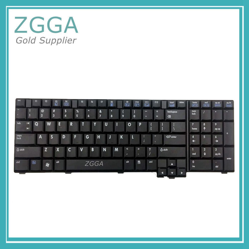 Genuine Laptop Keyboard 409911-001 PK1300X0300 For HP Compaq NX9420 NX9440 NW9440 Series US Layout Keyboards Black Brand New russian new laptop keyboard for samsung np300v5a np305v5a 300v5a ba75 03246c ru layout
