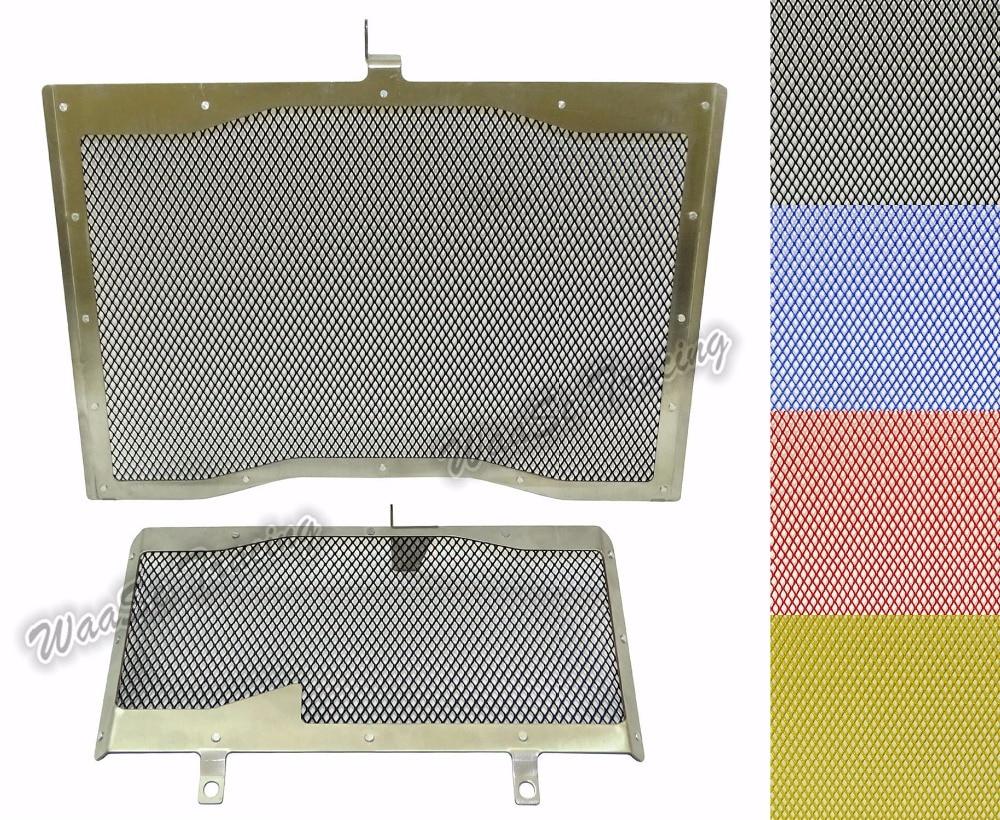 Тип-2 подчиняются Решетка радиатора + масляный радиатор гвардии защитная Крышка для YAMAHA МТ-10 ФЗ-10 MT10 FZ10 2016 2017