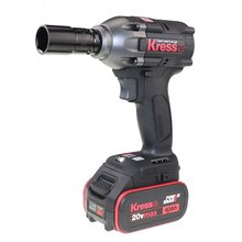 New arrival Germany tool 20V Brushless Motor electric cordless impact wrench KU270 1/2'' inch tool only(China)