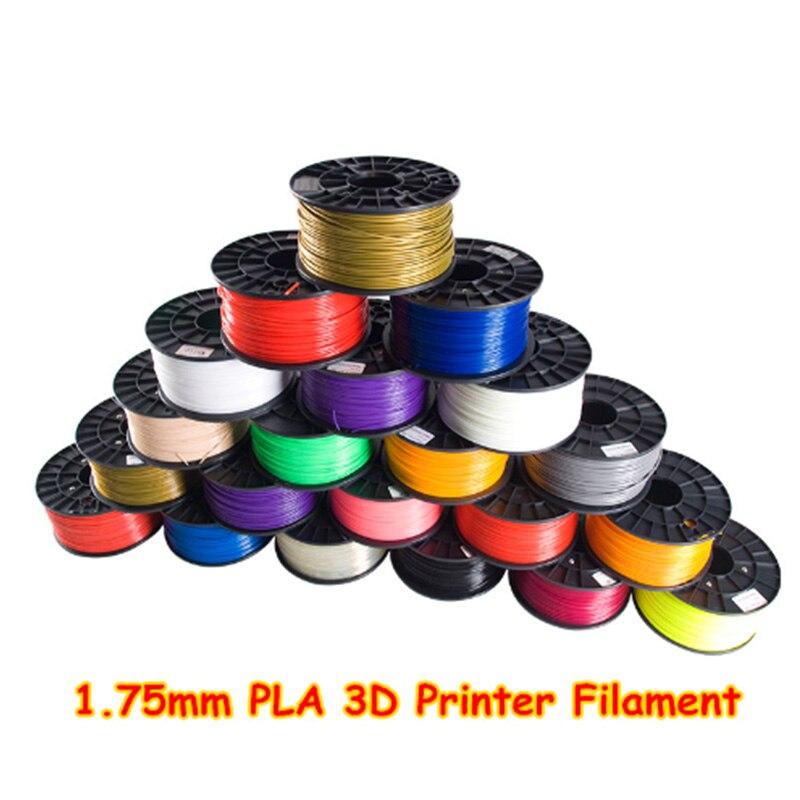 Anet 3D printer filament PLA 1.75 1kg plastic Rubber Consumables Material any filament  for 3d printer/3d printing pen 3d printer parts filament for makerbot reprap up mendel 1 rolls filament pla 1 75mm 1kg consumables material for anet 3d printer