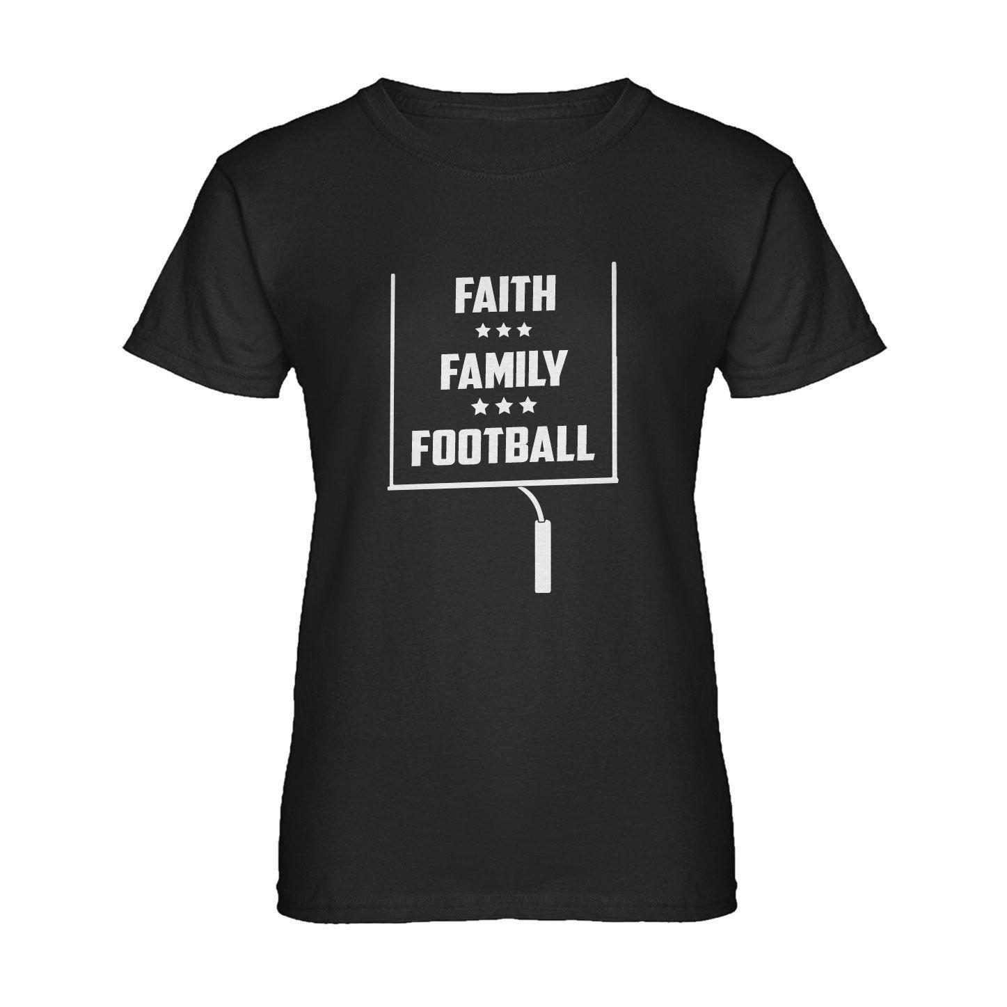 Womens Faith Family Footballer Womens T-Shirt Print Women'S T Shirt Punk Western Style Design T-Shirts Novelty Tops Tee