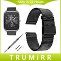 Миланский Ремень Quick Release для Asus Zenwatch 1 2 22 мм LG G Смотреть W100 W110 Вежливый W150 Нержавеющей Стали Смотреть Группы Браслет