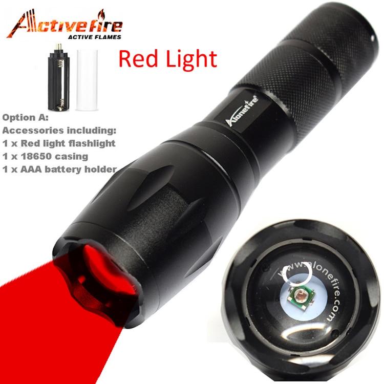 Adjustable zoomable Adjustable Focus Lantern Portable Penlight outdoor flashlight E17 XP-E Red Spotlight LED Flashlight torch