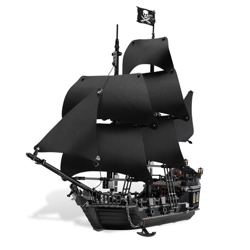 Creative LEPIN 16006 804Pcs Movie Series Ship Model Building Blocks children Toys 4148 compatible Legoe pirates caribbean lepin 22001 pirate ship imperial warships model building block briks toys gift 1717pcs compatible legoed 10210