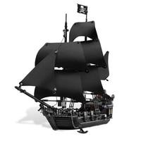 Creative LEPIN 16006 804Pcs Movie Series Ship Model Building Blocks Children Toys 4148 Compatible Legoe Pirates