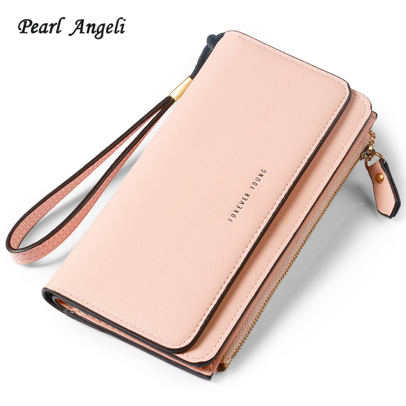 Pearl Angeli Long Style Women Purse PU L