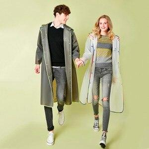Image 1 - Dorosły mężczyzna kobiet długi gruby płaszcz przeciwdeszczowy uniwersalny płaszcz przeciwdeszczowy płaszcz wodoodporny piesze wycieczki płaszcz przeciwdeszczowy z kapturem darmowa wysyłka